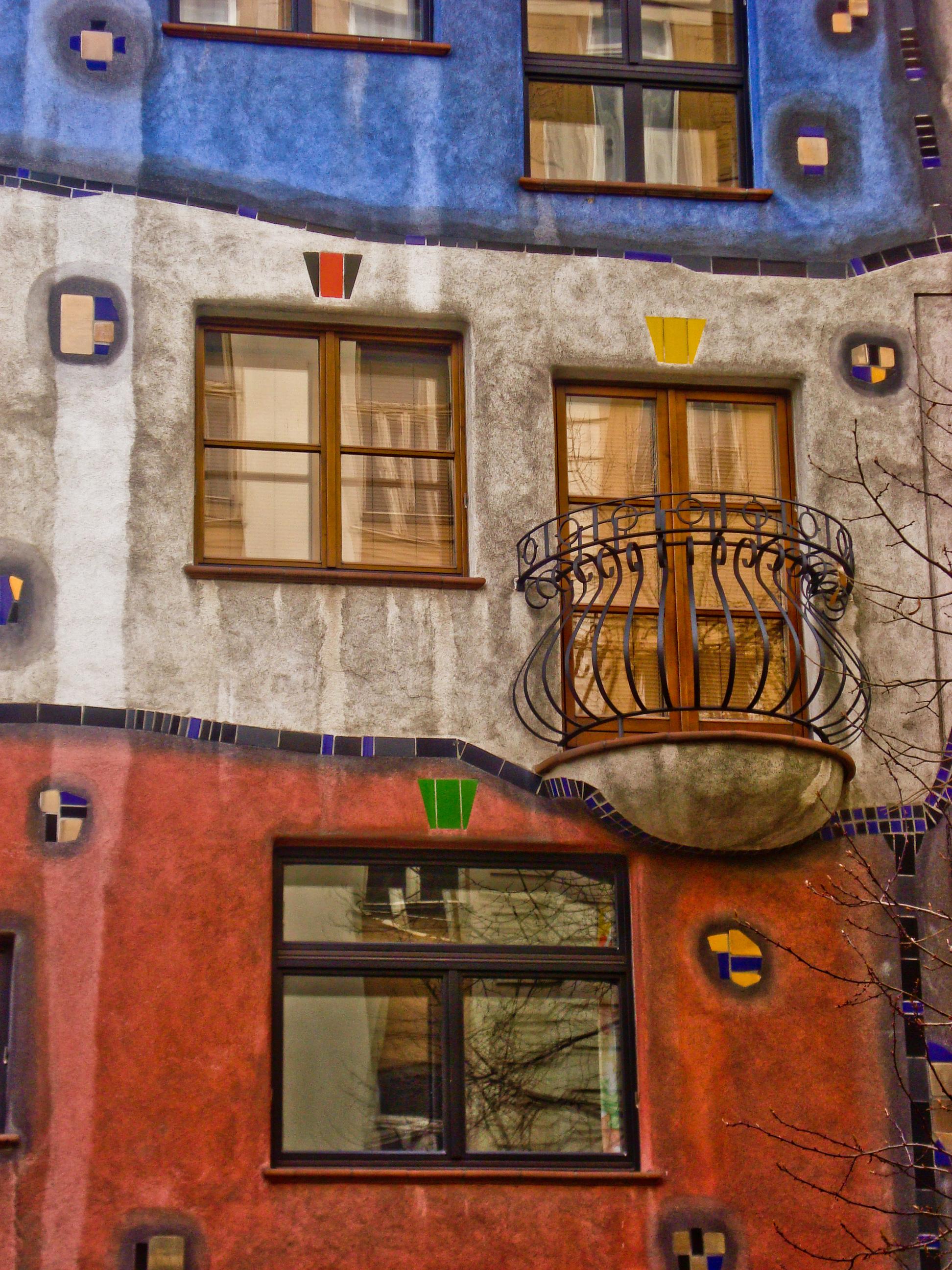 Arquitectura en Viena: Hundertwasserhaus