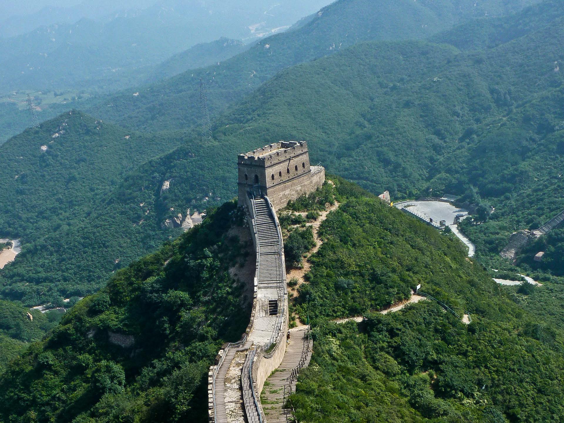 10 kilómetros por La Gran Muralla China