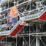Centro Pompidou, un Meccano a escala monumental