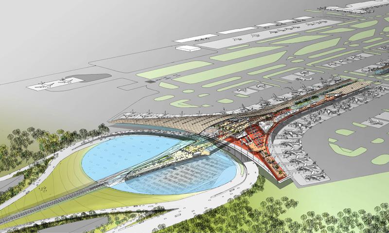 Aeropuertos: arquitectura de encuentros y partidas