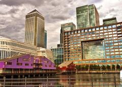 Canary Wharf, el vibrante nuevo eje de Londres