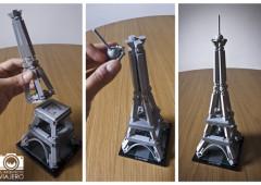 LEGO hace homenaje a los 125 años de la Torre Eiffel