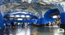 Viajar en el Metro de Estocolmo, una experiencia llena de arte