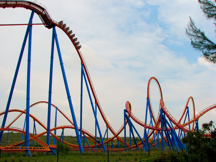 superman parque warner